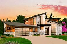 Home Layout Design Dynamic 4 Bed Modern House Plan With Finished Walkout