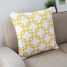 howarmer canvas cotton throw pillows cover for set