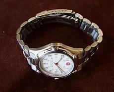 Wenger Sak Design Watch Wenger Sak Design Men S Swiss Army Watch 100m Wr Date