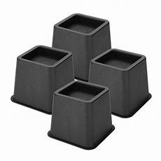 walfront 4pcs adjustable bed risers chair sofa riser wide