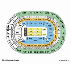 Keybank Arena Concert Seating Chart First Niagara Center Seating Chart View