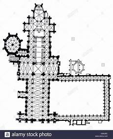 Floor Plan Of Cathedral Cathedral Floor Plan Stock Photo 104966944 Alamy