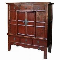 large wide cabinet with patina original