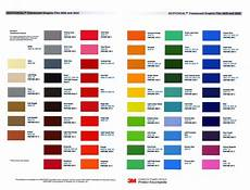3m Translucent Vinyl Chart 3m Scotchcal Translucent Graphic Film Series 3630