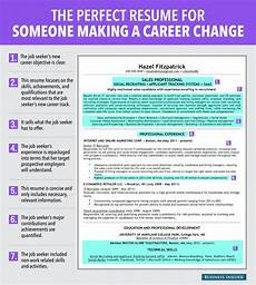 Career Transition Resumes Ideal Resume For Someone Making A Career Change Business