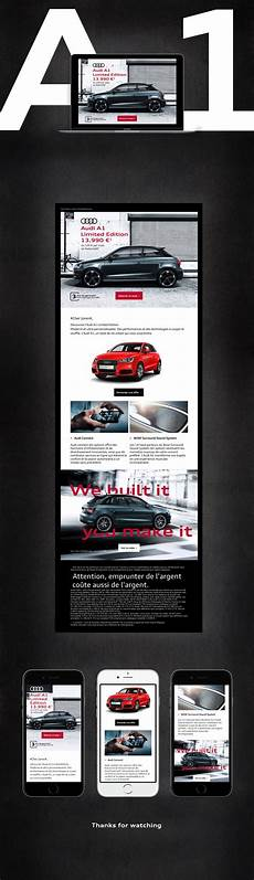 A1 Web Designer Promotional Email Audi A1 Limited Edition To Generate Test