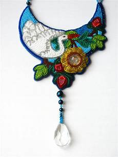 embroidered jewelry bead embroidery