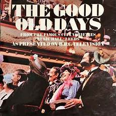 City Lights Bbc Dvd The Good Old Days From The Famous City Varieties Music
