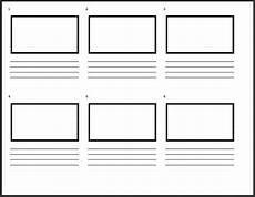 Storyboard Illustrator Template Storyboard Templates Powerproduction Storyboarding Software