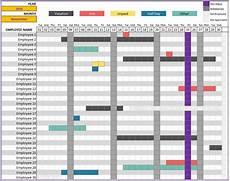 Tracking Calendar Template Employee Vacation Tracking Emmamcintyrephotography Com
