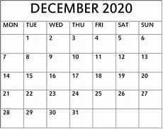 Free December 2020 Calendar Get December 2020 Calendar A4 Calendar Printables Free Blank