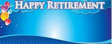 Retirement Banners Happy Retirement Dream Personalised Banner Partyrama Co Uk