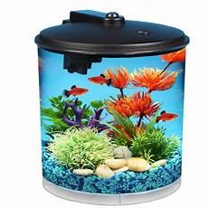 Imagitarium Aquarium Light Hawkeye 2 Gallon Aquarium Starter Kit With Power Filter