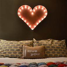 Buy Marquee Lights 24 Heart Vintage Marquee Lights Sign Rustic Buy
