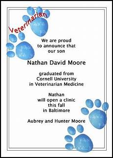 10 Best Veterinarian Graduation Announcement For