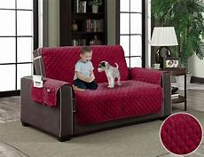 Pet Cover For Sofa 3d Image by Micro Suede Slipcover Pockets Pet Furniture