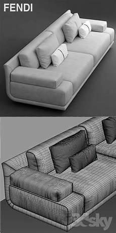 Sofa Chairs For Bedrooms 3d Image by 3d Models Sofa Sofa Fendi Casa Artu Sofa Living Room