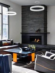 Back To Back Fireplace Design Top 60 Best Stacked Stone Fireplace Ideas Interior Designs