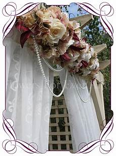 vintage pastel wedding arbor arch table decoration