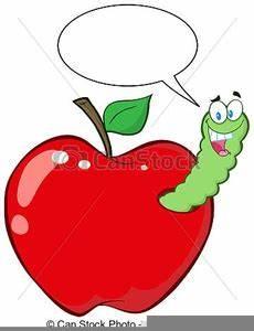 Malvorlagen Apfel Mit Wurm Clipart Apfel Mit Wurm Free Images At Clker Vector