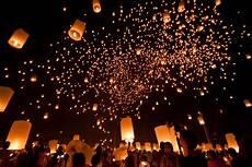 Lanterns And Lights At Chiang Mai Road 15 November Loy Krathong Green Wood Travel Blog