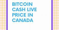 Bitcoin Cash Chart Cad 1 Bch To Cad Convert Bitcoin Cash To Cad Bitcoin Cash