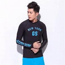 mens swimming shirt sleeve 2017 gs brand s swimming t shirt swim tops