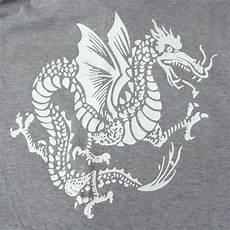 Seam Drakon All Item 5777 Flat Seam S S Tee Dragon Print Gray