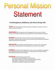 How To Write A Career Vision Statement How To Write My Own Personal Mission Statement Finding Joy