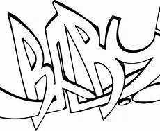 Graffiti Malvorlagen Word Graffiti Coloring Pages Free On Clipartmag