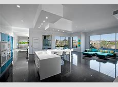 Modern Open Plan Kitchen and Living Space   HGTV