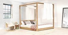Bed With Posts Low Four Poster Canopy Bed Get Laid Beds