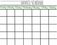 Make Your Own School Schedule Free Printable Calendar Schedule Ten Free Printable
