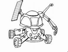 roboter mit solaranlage ausmalbild malvorlage science