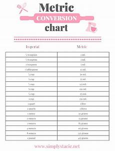 Conversion Chart Metric Conversion Chart Printable Simply Stacie
