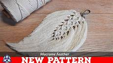 macrame feathers diy macrame feathers tutorial new pattern keychain