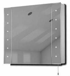 Bathroom Mirror Cabinet With Battery Lights Buy Regal Led Illuminated Battery Bathroom Mirror Cabinet