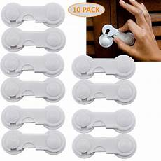 cabinet locks child safety latch pack of 10 baby proof