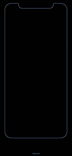 iphone x black wallpaper with border gorgeous frame wallpapers for iphone x ep 10 ios hacker