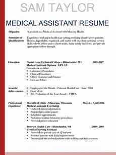 Essay On Medical Assistant New Medical Assistant Resume Samples Resume Samples 2019