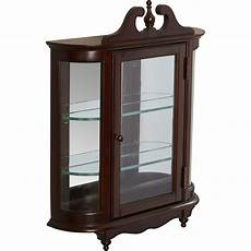 rosalind wheeler cheshire wall mounted curio cabinet