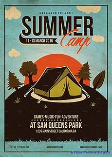 Camp Flyer Template Free 50 Best Kids Summer Camp Flyer Print Templates 2019 Frip In