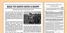 News Article Examples Newspaper Report Examples Resource Pack Primary Resource