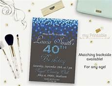 Free Digital Birthday Invitations 16 40th Birthday Invitations Psd Vector Eps Ai Free