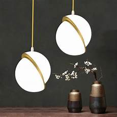 Acrylic Ball Pendant Light Nordic Creative Gold Ball Chandelier Lights Round Acrylic