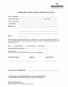 Blank 3rd Party Authorization Form Floridays Resort 3rd Party Credit Card Authorization Pdf