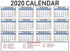Download Yearly Calendar 2020 Free Printable Yearly 2020 Calendar On We Heart It