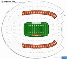 Denver Broncos Club Level Seating Chart Club And Premium Seating At Sports Authority Field