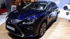 lexus rx facelift 2019 2019 lexus rx 450h l exterior and interior geneva
