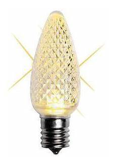 C9 Incandescent Christmas Lights Canada Faceted Twinkle C9 Bulb Warm White Canada Outdoor